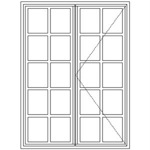 Picture of BD52 Small Pane 1103W X 1490H