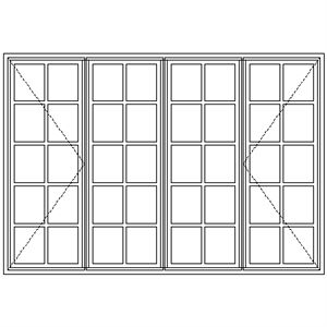 Picture of BD522 Small Pane 2161W X 1490H