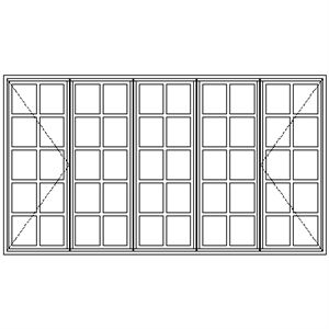 Picture of BD5229 Small Pane 2690W X 1490H