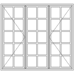 Picture of BD54 Small Pane 1632W X 1490H