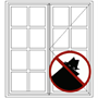 Picture for category Guarded Small Pane Windows