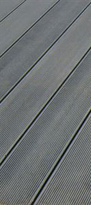 Picture of 4 Everdeck Charcoal Grey Composite Decking Slat