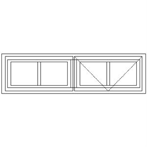 Picture of LNG2 Small Pane 1103W X 305mm