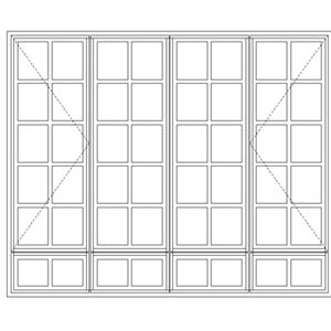 Picture of LND522/G Small Pane 2161W x 1765H