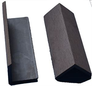 Picture of L Shaped Skirting Chocolate Brown