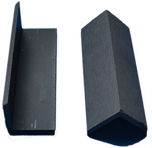 Picture of L Shaped Skirting Charcoal Grey