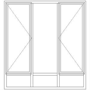 Picture of LND54/NG9 Full Pane 1632W X 1765h