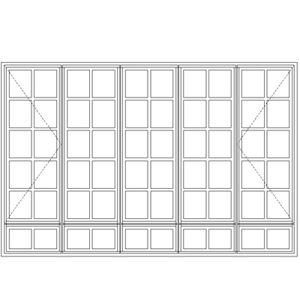 Picture of LND5229/G Small Pane 2690W X 1765H