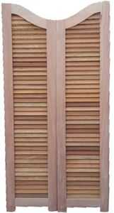 Picture of Saloon Louvre Doors Curved Top 813 X 1500