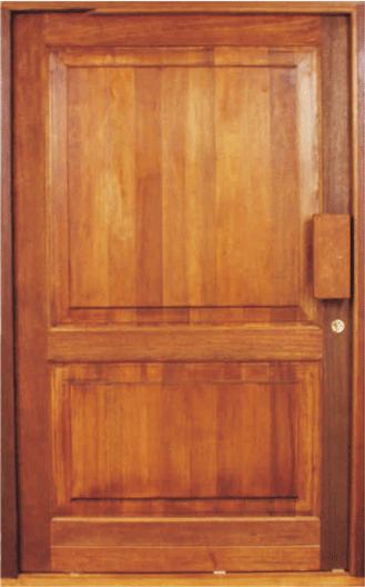 Picture of 2 Panel Pivot Door 1200 X 2032