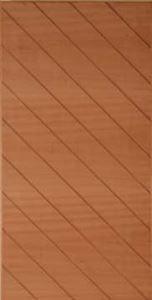 Picture of Sapele Diagonal Solid Pivot 1200W X 2032H