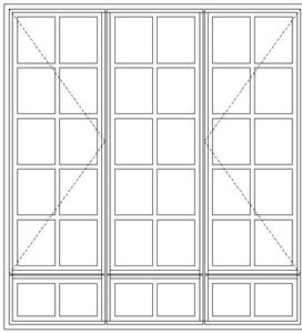Picture of BD54/G Small Pane 1632W X 1765H