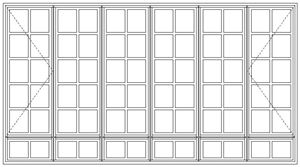Picture of BD522108/G Small Pane 3219W x 1765H