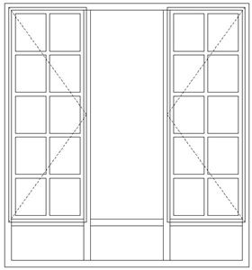 Picture of BD54/NG9 Full Pane 1632W X 1765h