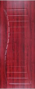 Picture of Dual Curve (Mahogany) 813W x 2032H