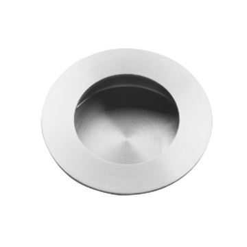 Picture of Stainless steel round flush pull with round pull QS4457/2