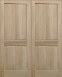 Picture of Pair of 2 Panel Doors 1613W x 2032H
