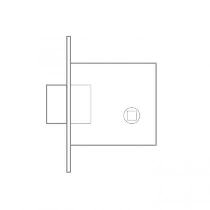 Picture of QS0055/5 Stainless steel bathroom lock