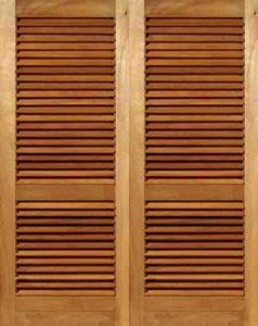 Picture of Pair of Louvre Doors 1613W x 2032H