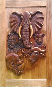 Picture of Big 5 Hand Carved