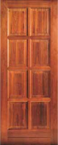 Picture of Lotus Hardwood 8 Panel 813 X 2032