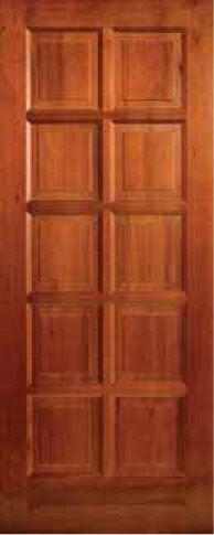 Picture of Lotus Hardwood 10 Panel 813 X 2032