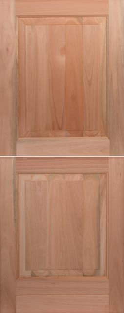 Picture of Lotus Hardwood 2 Panel Stable 813 X 2032