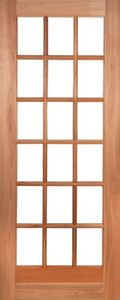 Picture of Lotus 18 Light Cottage Pane Door 813 X 2032