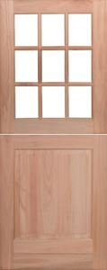 Picture of Lotus Cottage Pane Top Panel Bottom Stable Door 813 X 2032