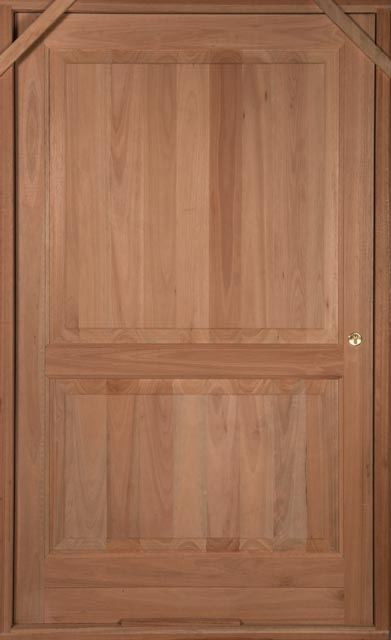 Picture of Lotus Hardwood 2 Panel Pivot 1200 X 2032