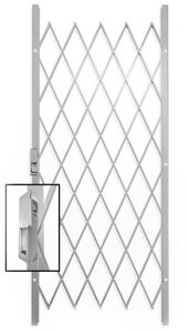 Picture of Saftidor A Slamlock Security Gate - 840mm x 2000mm White