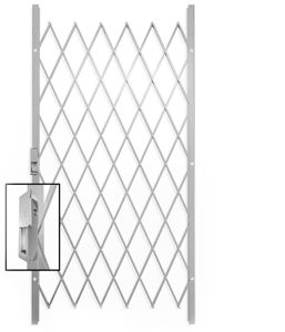 Picture of Saftidor B Slamlock Security Gate - 1000mm x 2000mm White
