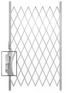 Picture of Saftidor C Slamlock Security Gate - 1150mm x 2000mm White
