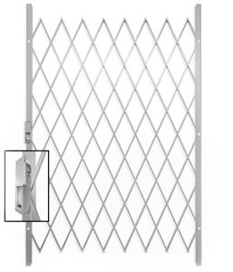 Picture of Saftidor D Slamlock Security Gate - 1300mm x 2000mm White