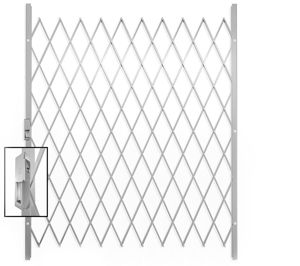 Picture of Saftidor F Slamlock Security Gate - 1600mm x 2000mm White