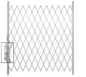 Picture of Saftidor G Slamlock Security Gate - 1800mm x 2000mm White