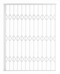 Picture of Alu-Glide Security Gate 1500mm x 2150mm White