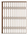 Picture of Alu-Glide Security Gate - 1500mm x 2150mm Bronze
