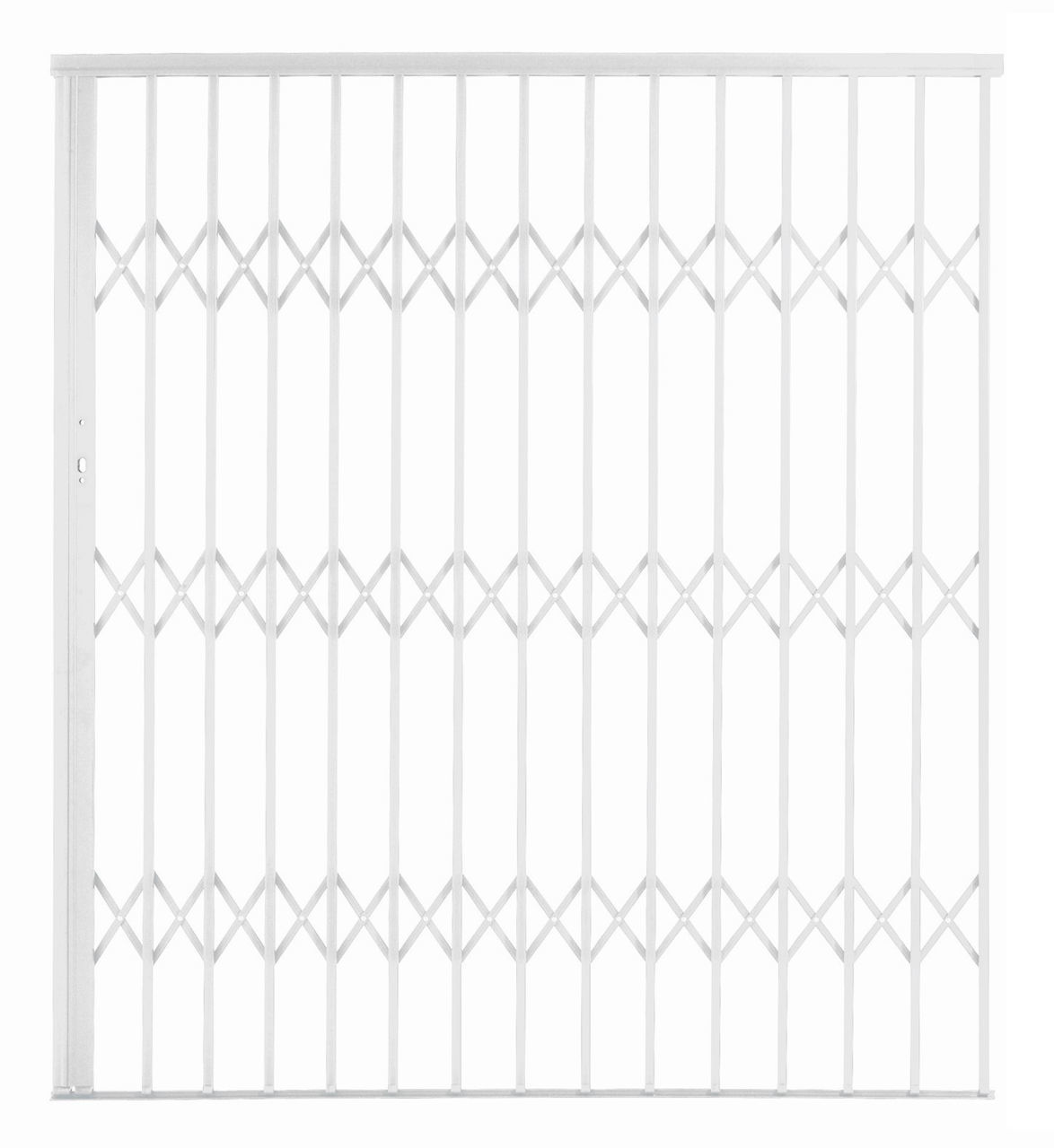 Picture of Alu-Glide Security Gate 1800mm x 2150mm White