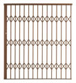 Picture of Alu-Glide Security Gate 1800mm x 2150mm Bronze