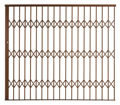 Picture of Alu-Glide Security Gate 2500mm x 2150mm Bronze