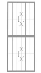 Picture of Homestyle White Lockable Security Gate 770mm x 1950mm