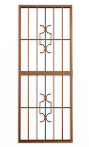 Picture of Homestyle Bronze Lockable Security Gate 770mm x 1950mm