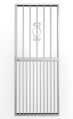 Picture of Regal White Lockable Security Gate 770mm x 1950mm