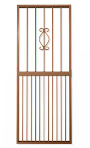 Picture of Regal Bronze Lockable Security Gate 770mm x 1950mm