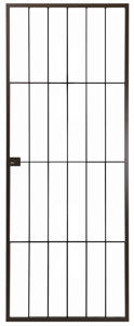 Picture of Econo Bronze Security Lock Gate 770mm x 1950mm