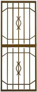 Picture of Trendi Bronze Lockable Security Gate 770mm x 1950mm