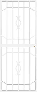 Picture of Trendi White Lockable Security Gate 770mm x 1950mm