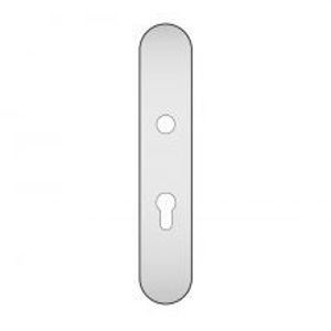 Picture of Stainless steel cylinder backplate